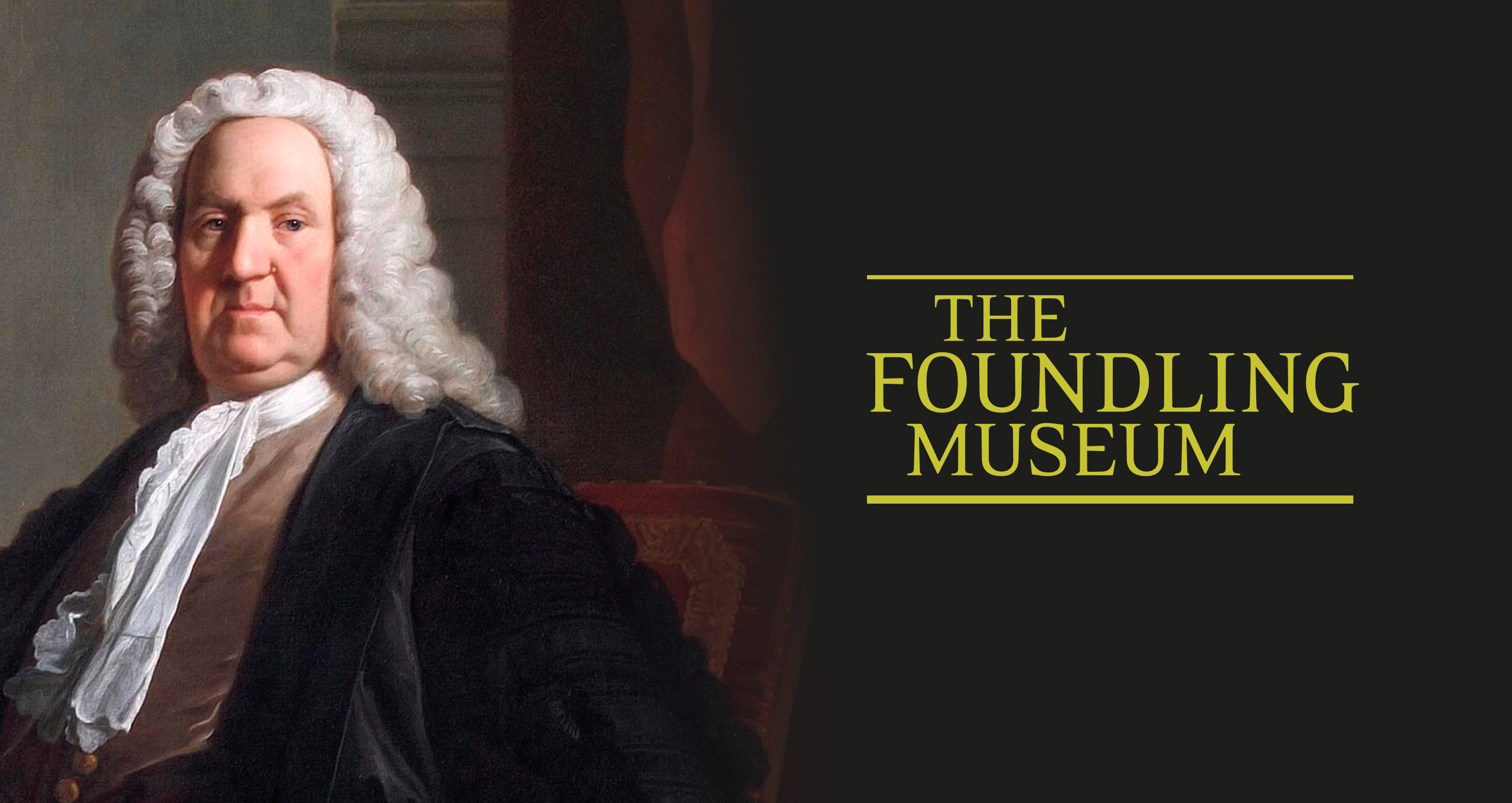 Foundling Museum logo header, and The Generous Georgian: Dr Richard Mead