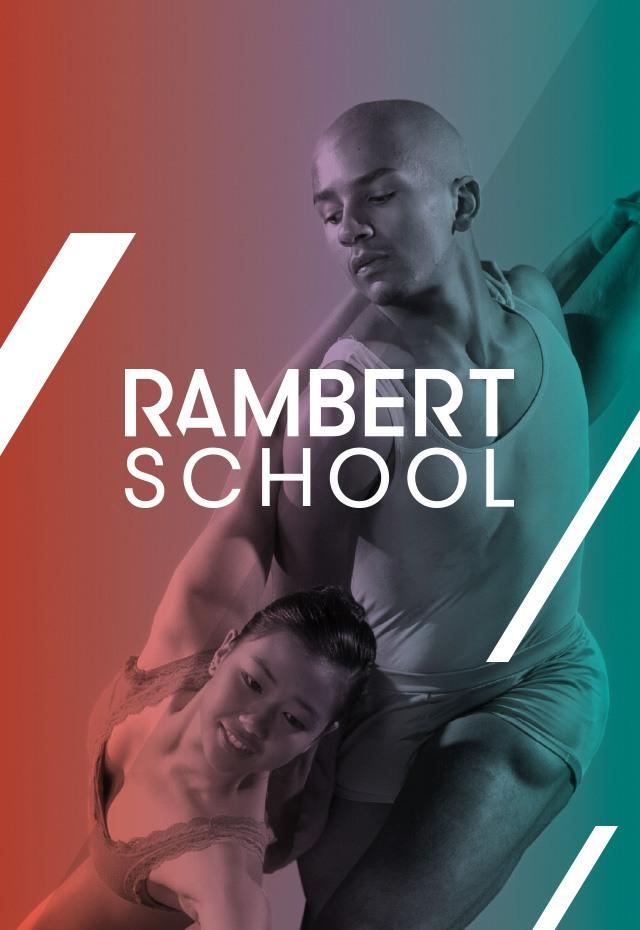 Rambert School Hero image dancers